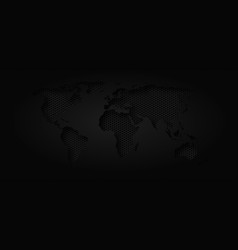 world map industrial background vector image