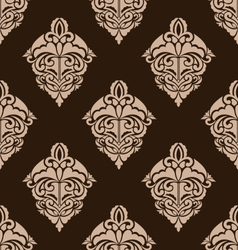 Damask Seamless Ornate Pattern vector image
