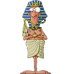 Ancient pharaoh vector