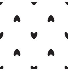 Black heart icon pattern vector