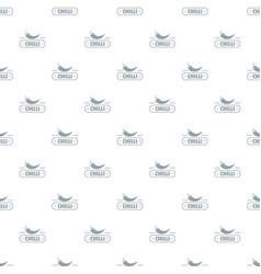 Chilli spice pattern seamless vector