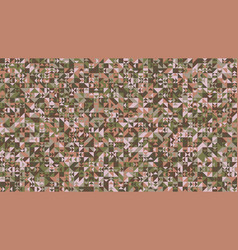 colorful chaotic random polygonal mosaic pattern vector image