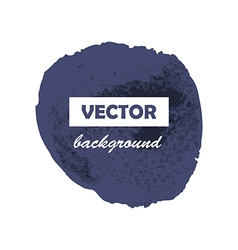 Colorful round paint stains for your text vector