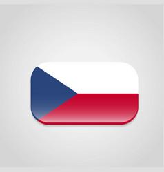 czech republic flag design vector image