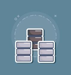 Data server design vector