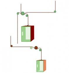Elevators vector