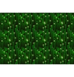 Green matrix digital binary code on dark vector