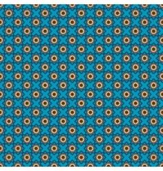 Oriental blue pattern vector image vector image