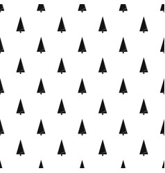 origami fir tree pattern seamless vector image
