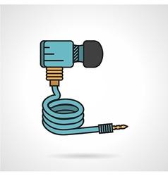 Paintball dioxide hose icon vector