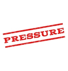 Pressure Watermark Stamp vector