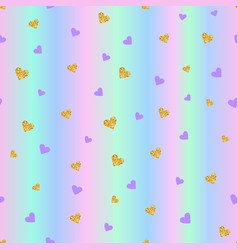 valentines day seamless pattern background with vector image