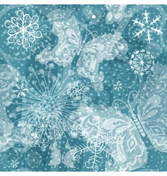 cristmas seamless pattern vector image vector image