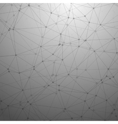 Futuristic Wireframe Background Polygonal vector image vector image