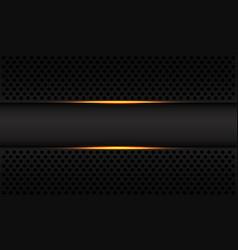 abstract gold light line grey banner circle mesh vector image