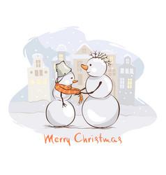 christmas postcards vector image