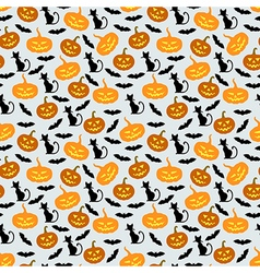 hallowen seamles vector image