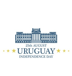 Independence Day Uruguay vector image