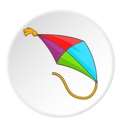Kite icon cartoon style vector image