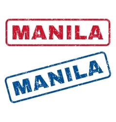 Manila Rubber Stamps vector