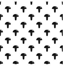 Poisonous mushroom pattern vector