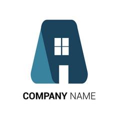 real estate logo premium vector image