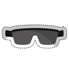 sport sunglasses isolated icon vector image