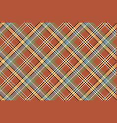 beige brown diagonal plaid pixeled seamless vector image