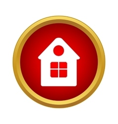 Home icon simple style vector image vector image