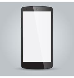 black business mobile phone style isolated vector image
