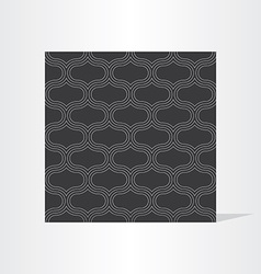 black seamless background texture vector image