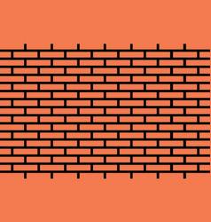 brick wall blocks background vector image