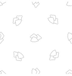 Cloudy weather pattern seamless vector