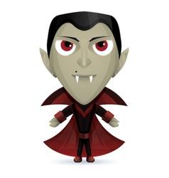 Dracula Happy vector