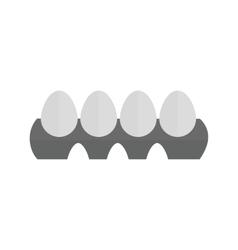 Eggs Tray vector