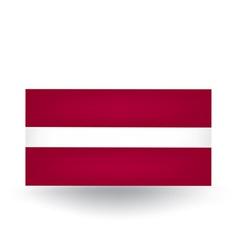 Latvian Flag vector