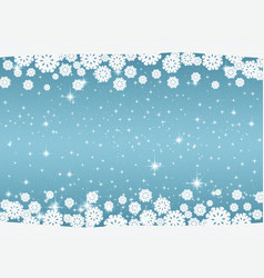 New years and christmas blue background vector