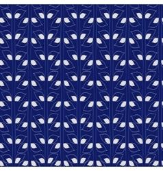 Seamless plants pattern vector