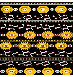 Ethnic backgorund vector image vector image