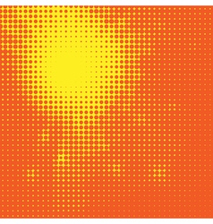 Abstract Sun Halftone Background for your design vector image