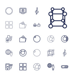 22 3d icons vector