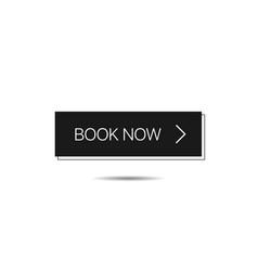 book now button template vector image