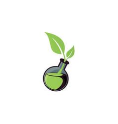 bottle logo vector image