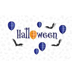 Happy halloween holiday sale composition 03 vector