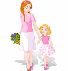 Mother's Day illustration vector image