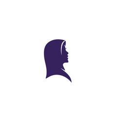 muslimah hijab vector image