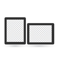 realistic blank picture frame templates set in vector image