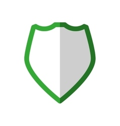 Shield icon Insurance design graphic vector image