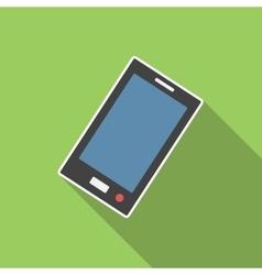 Smartphone flat icon vector image