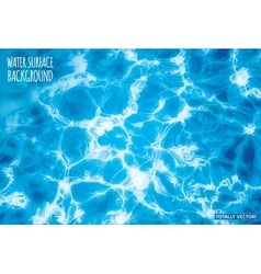 Water surface vector image